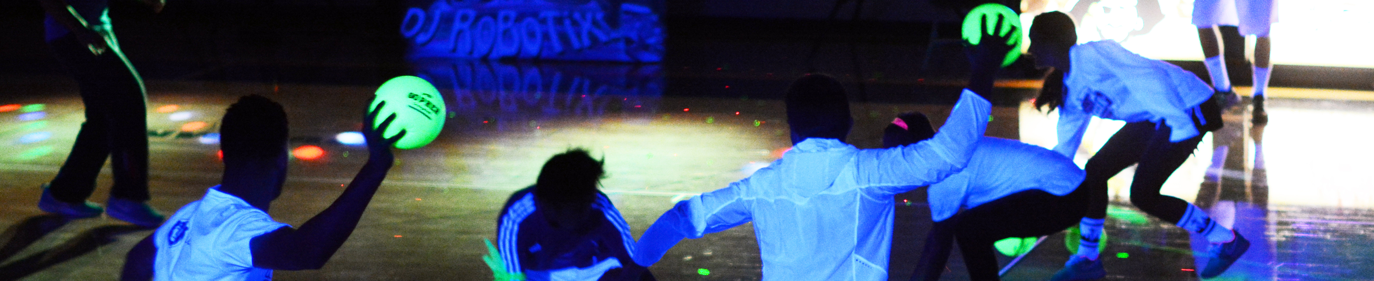 Black Light Dodge Ball