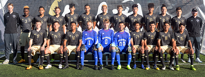 2016 Peninsula College Pirate mens soccer
