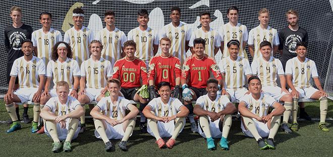 2017 Peninsula College mens soccer