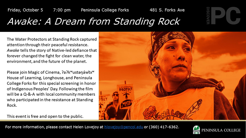 Screening of Awake: A Dream from Standing Rock