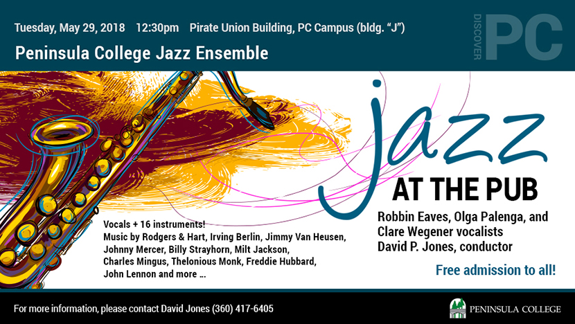 Jazz At The PUB Ecard