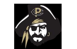 athletics mascot logo pirate head